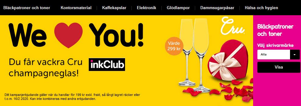 Kampanj på InkClub