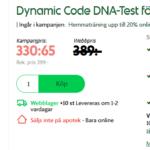 DNA-Test ta reda på ditt anlag för Fett- och muskeltyp