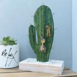 Kaktus som nyckelhängare
