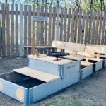 Bygga lektåg med pallar