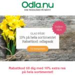 Glad Påsk rabattkod Odla.nu