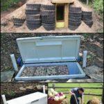 Bygga jordkällare med det man har