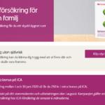 Olycksfallsförsäkring och 250 kr att handla mat för på ICA