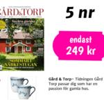 Gård & torp + 2 Ostindia muggar från Rörstrand