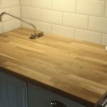 Smart bakbord i litet kök