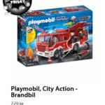 25% rabatt på Playmobil idag