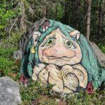 Tänk att gå i skogen och få se ett sådant här...