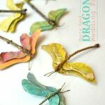 Göra fjärilar av lönn näsor