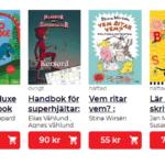 Nedsatt pris på pysselböcker till barn
