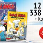 Prenumerera på Kalle Anka och få en kokbok för små mästerkockar