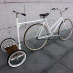 Ge skjuts med cykel
