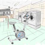 Cykeldrivna tvättmaskiner