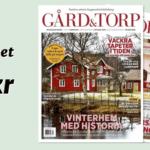 Tidningen Gård & Torp med 2 st Ostindia Muggar från Rörstrand