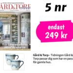 Gård & Torp + 2 st Ostindia muggar Röstrand
