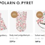 20% rabatt på ett helt köp på Polarn O. Pyret