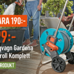 Fynd! Gardena slangvagn med slang för 399 kr