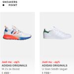Spara mycket pengar och köp sneakers till hela familjen i helgen med en transport