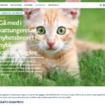 Gratis smakprov för kattungar från Bozita