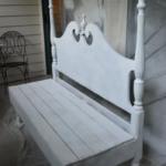 Bygga soffa med förvaring av tjusig sänggavel