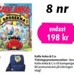 Kalle Anka med ryggsäck