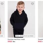 20% rabatt på barnkläder, gäller även rean!
