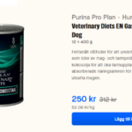 Tips! Storpack av Veterinary Diets EN Gastrointestinal Mousse Dog för endast 250 kr