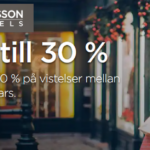 Rabatt hos Radisson hotels
